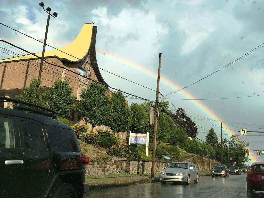 Rainbow Over Madonna